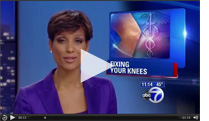 Watch Dr Khan performing Knee Contouring Surgery as seen on abc news.